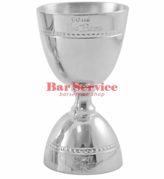 Джиггер барный 15-30-45-60 мл, нерж сталь The Bars в Кемерово