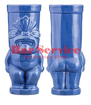 """Стакан д/коктейлей """"Тики"""";керамика 450мл,  голуб. в Кемерово"""