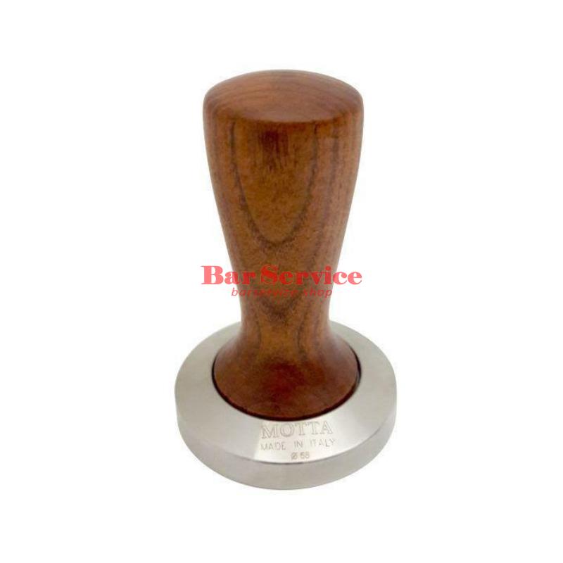 Темпер Мотта SLIM 58 мм. (плоский) рукоятка из дерева в Кемерово