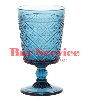 "Бокал д/вина ""Глория""; стекло; 240мл; синий в Кемерово"