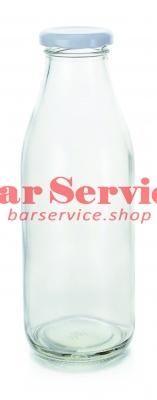 Бутылка с крышкой д/молока,соков 250мл  P.L. в Кемерово
