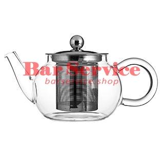 Чайник «Проотель»;  термост.стекло;  0,6л;  D=78мм в Кемерово