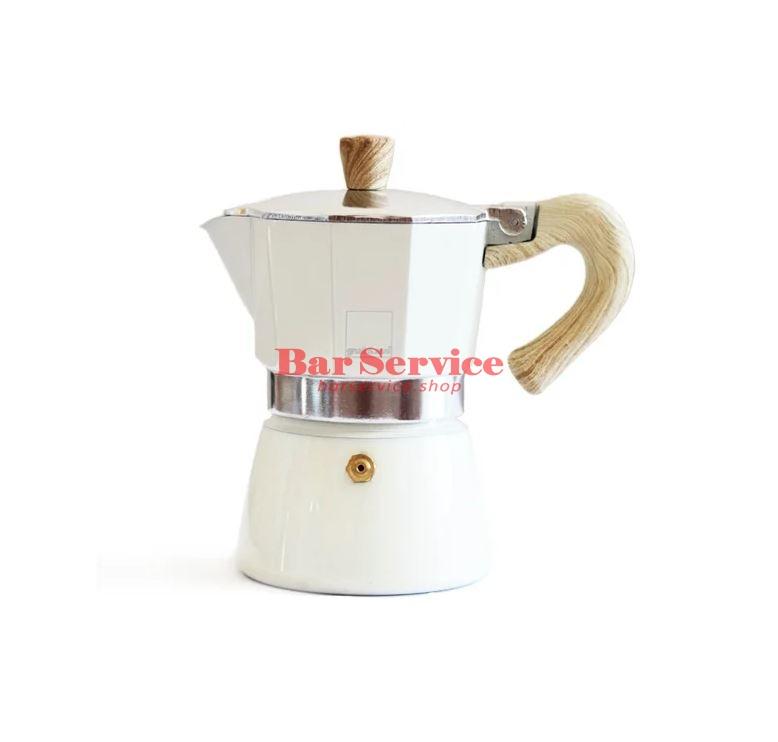 Кофеварка гейзерная Gnali Zani Venezia кремовая на 3п в Кемерово