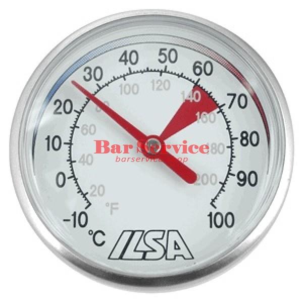 Термометр д/молока; сталь; D=45,L=138/125,B=55мм; металлич. в Кемерово