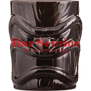 Стакан д/коктейлей «Тики», керамика; 450мл; коричнев. в Кемерово
