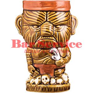 Стакан д/коктейлей «Тики» керамика; 450мл; коричнев. (01170825) в Кемерово