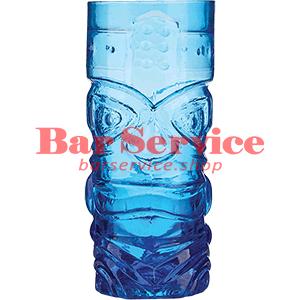 Стакан д/коктейлей, стекло «Тики» синий в Кемерово