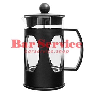 Чайник-кофейник Черный Объем: 600 мл. (френч пресс) в Кемерово