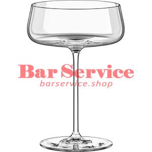 Шампан.-блюдце Мод; хр. стекло 425мл; D=120,H=170мм прозр в Кемерово