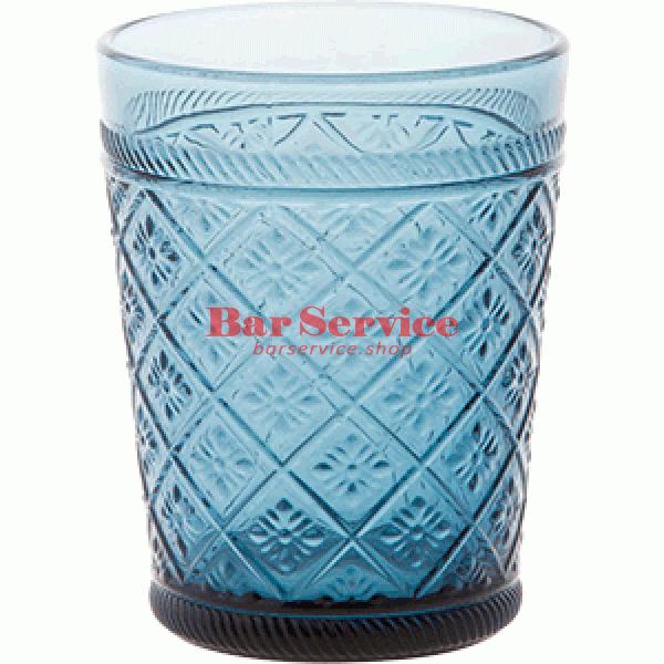 Стакан Глория; стекло; 350мл; синий в Кемерово