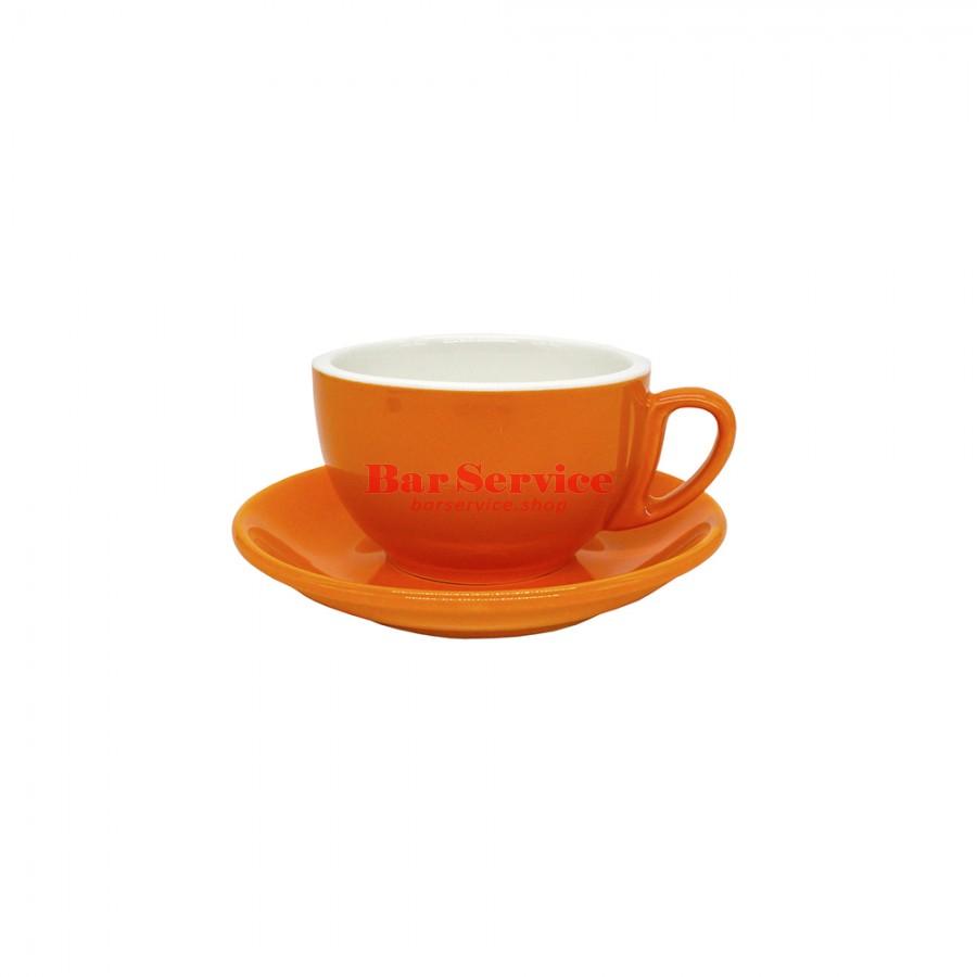 Чайная пара 270 мл; оранжевый цвет; Barista P.L. в Кемерово