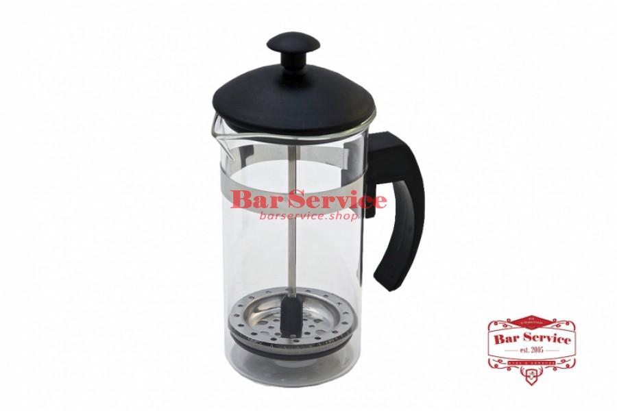 Чайник-кофейник Черный Объем: 350 мл. (френч пресс) в Кемерово